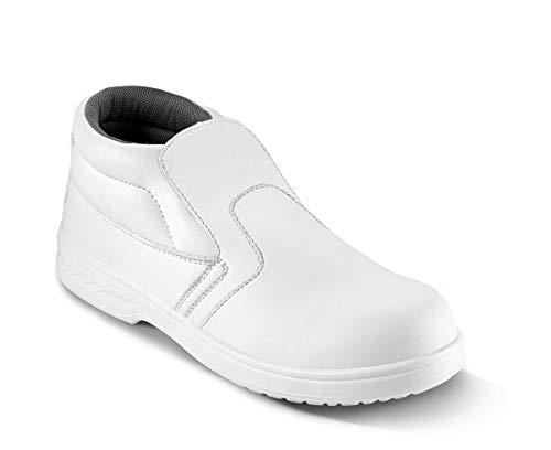 Sika 28224 Select S2 SRC Slip-On Low Boot - Ideal für Pharma- und Lebensmittelindustrie - Weiß - Gr. 41