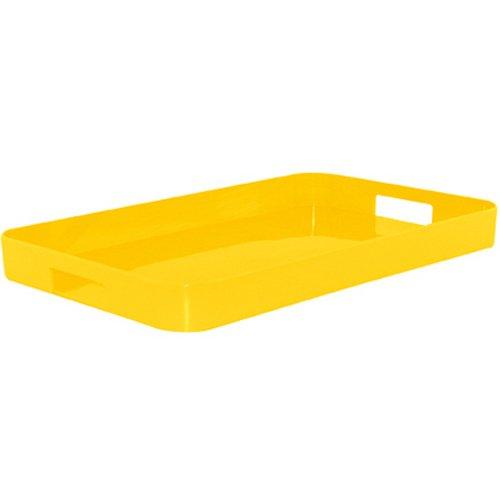 ZAK Gallery Tablett L, 53.5 x 34.5 cm, gelb