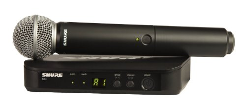 Shure BLX24/SM58 Wireless Microphone System with SM58 Handheld Vocal Mic