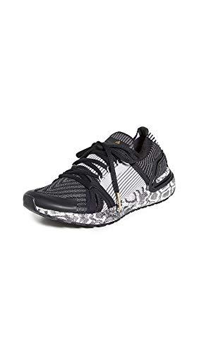 adidas by Stella McCartney Women's Ultraboost 20 S. Sneakers, Black-White/Black-White/DGH So, 5.5 Medium US