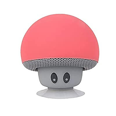 Amazon - 70%  Off on Portable Small Head Wireless Bluetooth Speaker Silicone Suction Cup