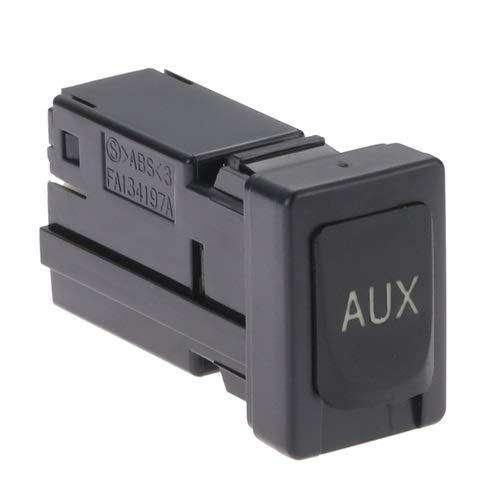 Aupoko 86190 02010 Aux Port Auxiliary Stereo Adapter Fits For Toyota Avalon Corolla Highlander Rav4 Sequoia Sienna Tacoma Tundra