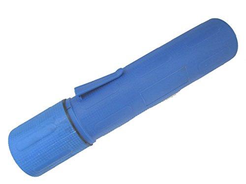 Electrodo de soldadura/lata de almacenamiento de varilla de 10 libras. de capacidad, color azul