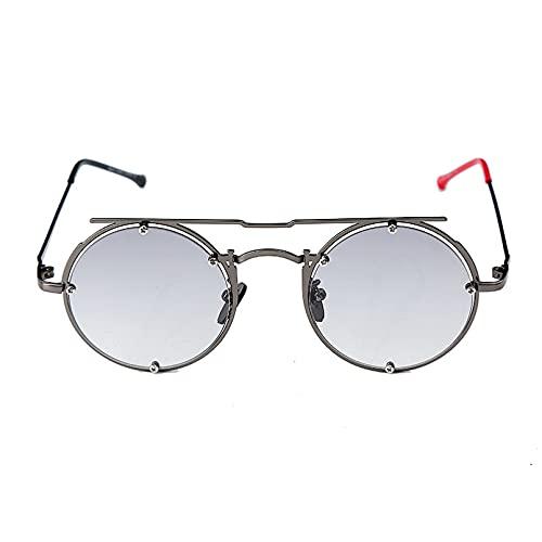 LUOXUEFEI Gafas De Sol Gafas De Sol Redondas Gafas De Sol Para Mujer Gafas De Sol Para Hombre Gafas Ovaladas