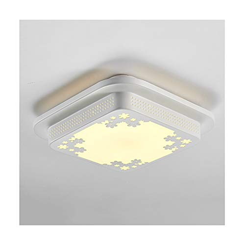 WFL plafondlamp, modern, eenvoudig, acryl, led, smeedijzer, decoratie, eetkamer, studio, hal, keuken, balkon, badkamer, plafondlamp, professionele verlichting