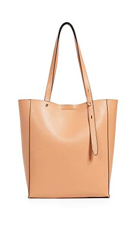 Rebecca Minkoff Women's Stella North South Tote, Honey, Tan, One Size