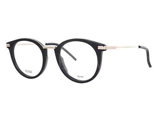 FENDI FF 0227 807 48 Gafas de sol, Negro (Black), Hombre