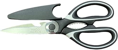 Waco Max 62% OFF Super popular specialty store Wares Kitchen Shears Heavy Steel Stainless – Duty Blad