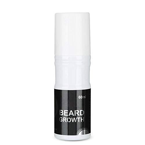 Barbe Growth Oil, BiuZi 60ml/Pc Men Beard Growth Spray Natural Accelerate Beard Growth Oil Facial Hair Growth Lequid
