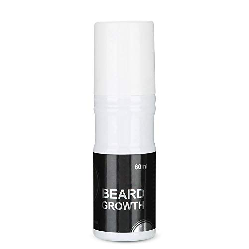 Leave-in Conditioner, 60ml Männer Bartwachstumsspray Natural Accelerate Bartwachstum Öl Facial Hair Growth Lequid