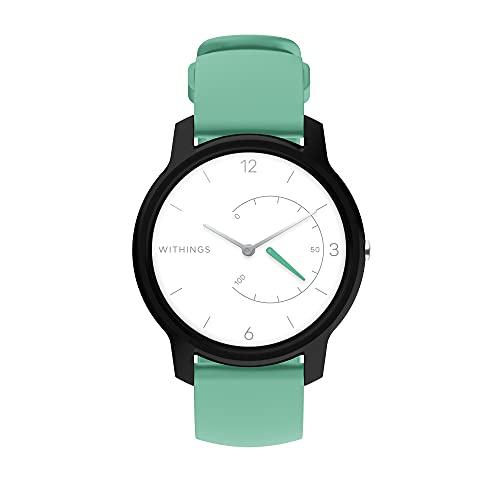Withings Move - Reloj híbrido conectado - Seguimiento de actividad con GPS conectado, análisis del sueño, resistencia al agua y 18 meses de duración de la batería