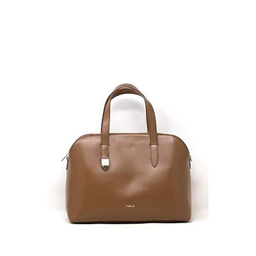 FURLA Bag Block M Hand and Shoulder Bag Woman Leather 31 x 22.5 x 11 cm