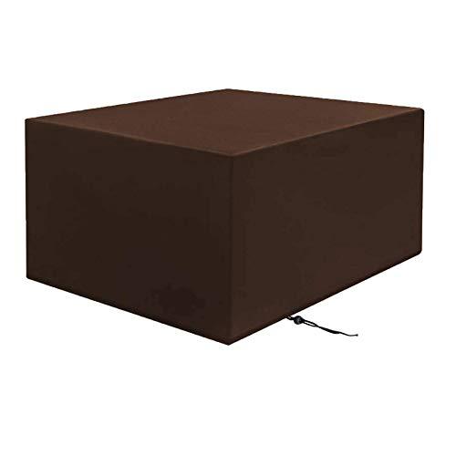 BUDBYU Garden Furniture Covers, Patio Furniture Covers Waterproof, Heavy Duty Oxford Fabric Rectangular Windproof Anti-UV Garden Furniture Covers