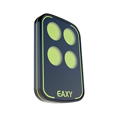 EAXY CONTROL - Radiocomando Universale Apricancello [NUOVA VERSIONE] - Multifrequenza da 433 a 868Mhz - Telecomando Cancello Universale con 4 Tasti ad Ampio Raggio - Codice Fisso + Codice Variabile