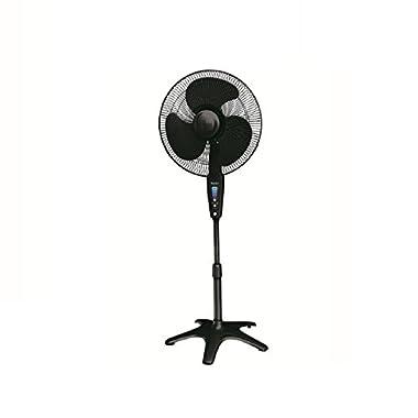 Kaz Honeywell HS-1655 QuietSet 16  Stand Fan - Black