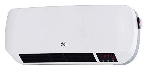 Ardes AR4W03P - Calefactor (Calentador de ventilador, Cerámico, 12 h, IPX2, Interior, Pared)