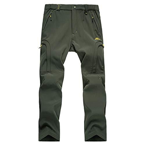 LUI SUI Pantaloni da Trekking da Esterno da Uomo...