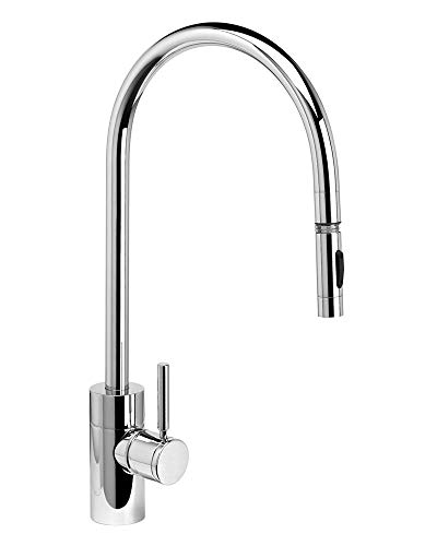 Sale!! Waterstone 5300-AMB Contemporary Extended Reach PLP Pulldown Faucet American Bronze