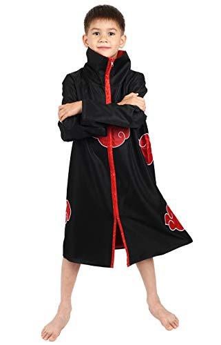 CoolChange Abrigo de los Akatsuki para niños Disfraz Cosplay