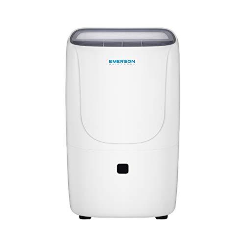 Emerson Quiet Kool 50-Pint Dehumidifier, EAD50E1, White