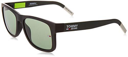 Tommy Hilfiger Unisex-Erwachsene TJ 0001/S Sonnenbrille, MTBLCKGRN, 56