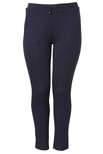 Frapp stijlvolle broek met krijtstrepen.