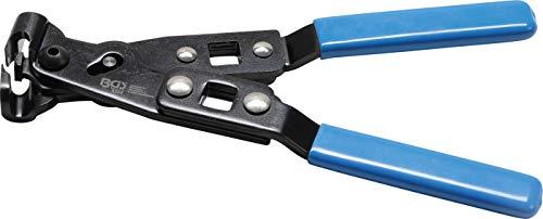 BGS 8359 | Ohr-Schlauchklemmen-Zange | 240 mm | Klemmzange mit Ohrniederhalter | für Ohrschellen
