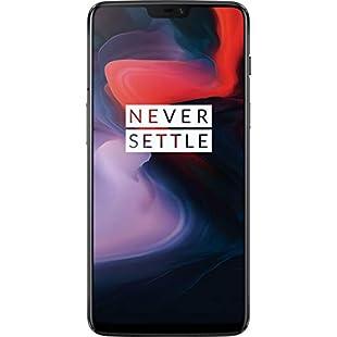 OnePlus 6 Dual SIM 128GB 8GB RAM A6000 Mirror Black:Canliiddaa