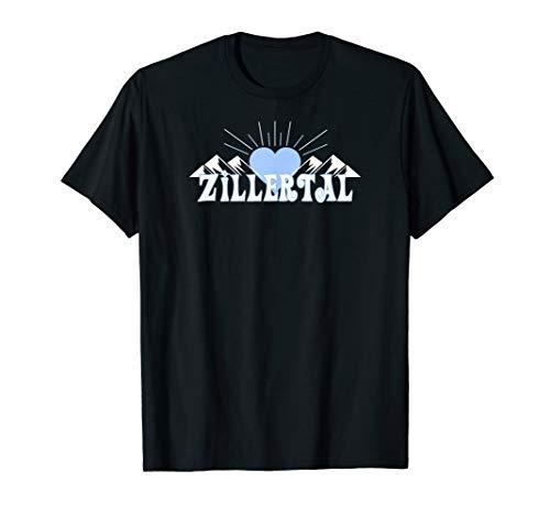 Zillertal Skifahrer/Snowboarder T-Shirt