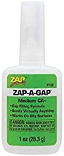 Medium Viscos New ZAP Adhesives Zap-A-Gap CA Plus Glue 1ounce PTO2 Model Kit Quick Arrive