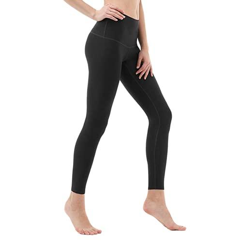 Pantalones de Yoga Anti-Sentadillas para Mujer, Pantalones Deportivos de Cintura Alta, Leggings, Pantalones de Fitness al Aire Libre, Pantalones de Yoga de Secado rápido elásticos BM