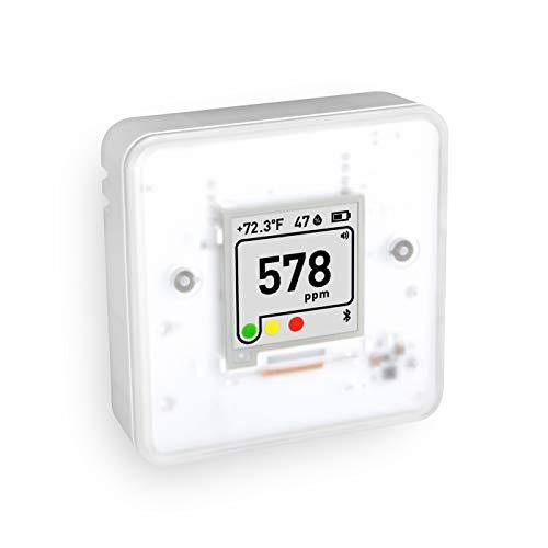 Aranet4 Home: sensor de calidad de aire interior inalámbrico para el hogar, la oficina o la escuela [CO2, temperatura, humedad y más] portátil