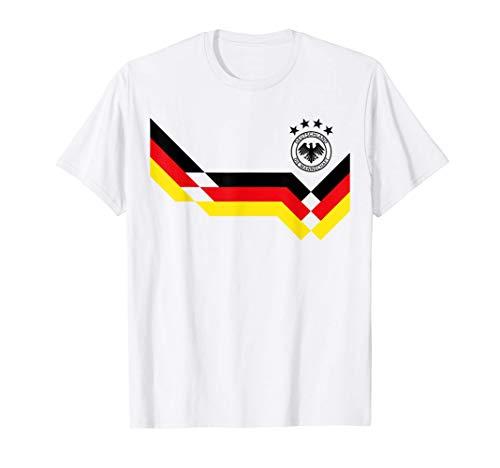 Retro German Soccer Jersey Football Die Mannschaft T-Shirt