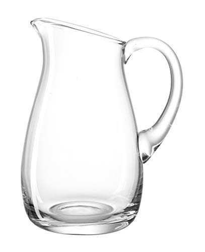 LEONARDO HOME Krug Giardino, 1,14 Liter, Höhe 20 cm, Karaffe, Saftkrug, Wein Krug, spülmaschinengeeignet, handmade, 010237