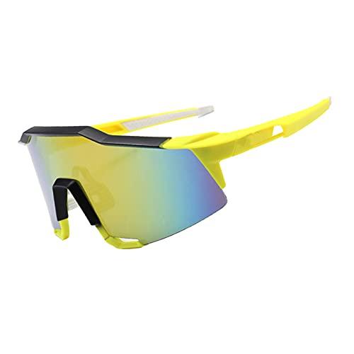 AESHW Gafas de Sol Deportivas polarizadas Gafas de Bicicletas Protectoras UV400, adecuadas para Hombres y Mujeres Bicicletas de Carretera y Bicicletas de montaña Style 7