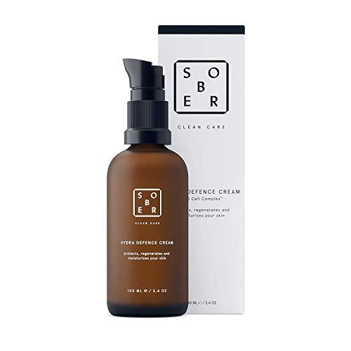 Bild des Produktes 'sober | Hydra Defence Cream | Gesichtspflege für Männer | vitalisierende Feuchtigkeitscreme Herren | Anti-Aging Gesichtscreme (50ml)'