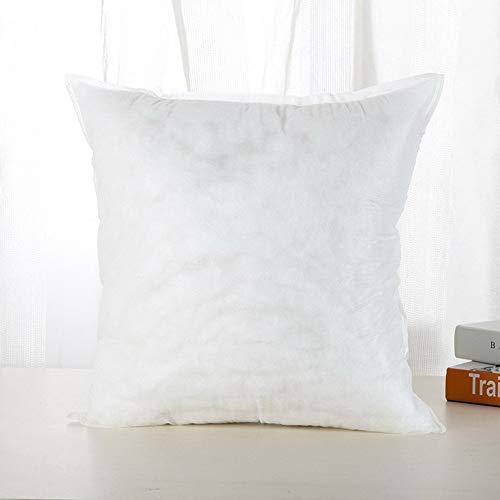 yywl Cojín de algodón de 50 x 50 cm, 450 g, con bonito diseño de peluche, ideal como regalo, decoración, para la cintura y el interior