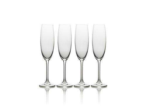 Mikasa Julie Lunettes de luxe en cristal sans plomb Transparent, Verre, transparent, 8 Oz