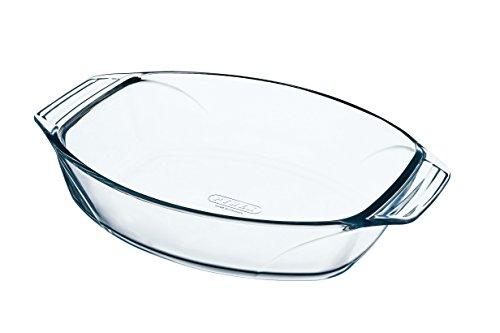 Pyrex - Irresistible - Plat à Four Ovale en Verre 39x27 cm