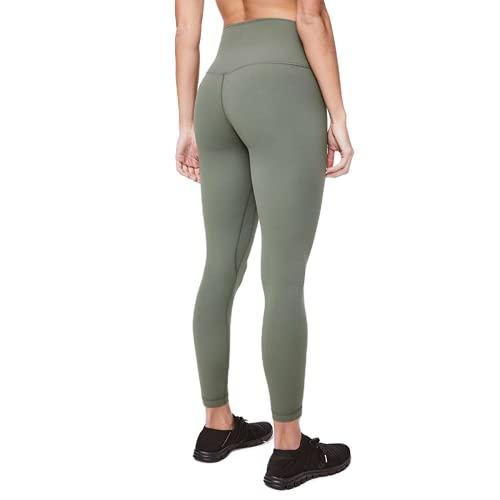 QTJY Pantalones Deportivos de Yoga Desnudos Suaves, Mallas Deportivas para Mujer, Estiramiento de Cintura Alta, Caderas, Pantalones Deportivos, Pantalones Deportivos I XL