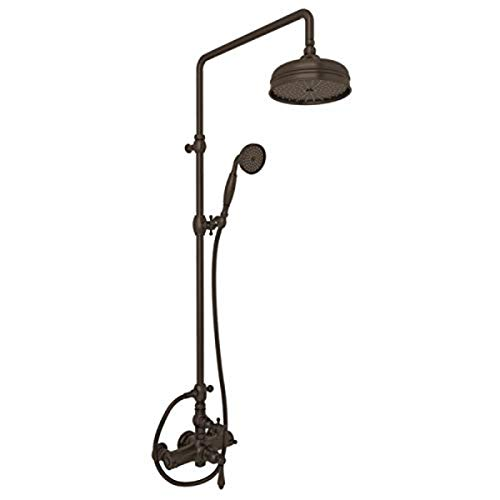 Best Review Of ROHL AKIT49171EXMTCB THERMOSTATIC SHOWER, Tuscan Brass