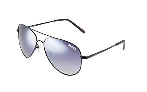 SINNER zonnebril voor volwassenen Morin polycarbonaat Aviator