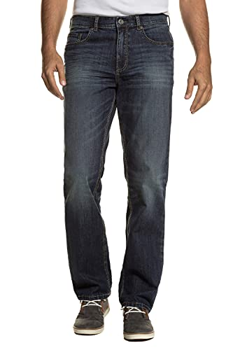 JP 1880 bis 66, Superstretch-Jeans, 5-Pocket im Used-Look, Straight Fit, Destroyed Blue Used 58 711564 94-58