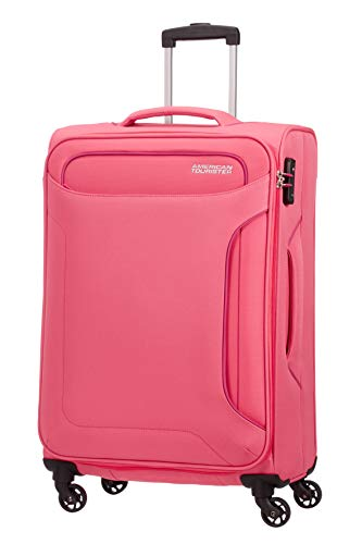 American Tourister Holiday Heat Valigia, Spinner M (67cm-66L), Rosa (Blossom Pink)