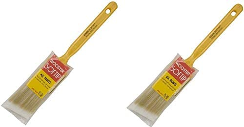 1-1//2 1-1//2-Inch New Wooster Brush 1//2 Q3208-1.5 Q3208-1-1//2 Softip Angle Sash Paintbrush