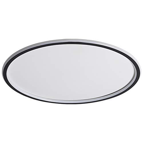 Seihoae - Plafón LED de 45 W, moderno, minimalista y ultrafino, redondo, para salón, dormitorio, pasillo y comedor.