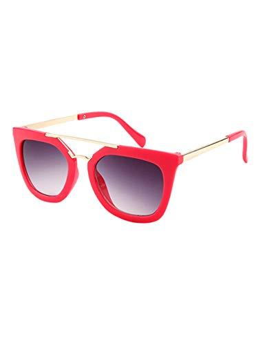 BESBOMIG besbomig Kinder Sonnenbrille Klassiches Retro Brillen - UV400 Schutz Sportbrille Party Favors Geschenk Sunglasses für Jungen und Mädchen Alter 6-12