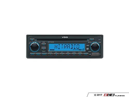 VDO 12 Volt PKW Auto Radio, RDS-Tuner, CD, MP3, WMA, USB, 12V CD716U-BU