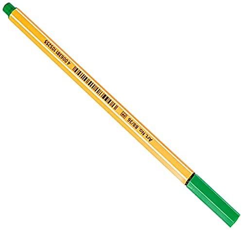 Fineliner - STABILO point 88 - grün