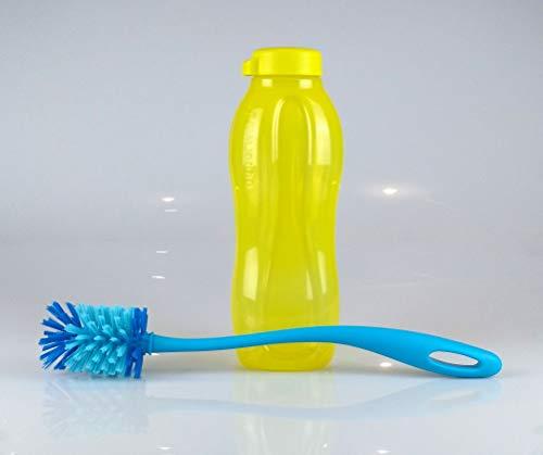 Tupperware EcoEasy - Botella de agua (1,5 L, incluye cepillo para botellas)